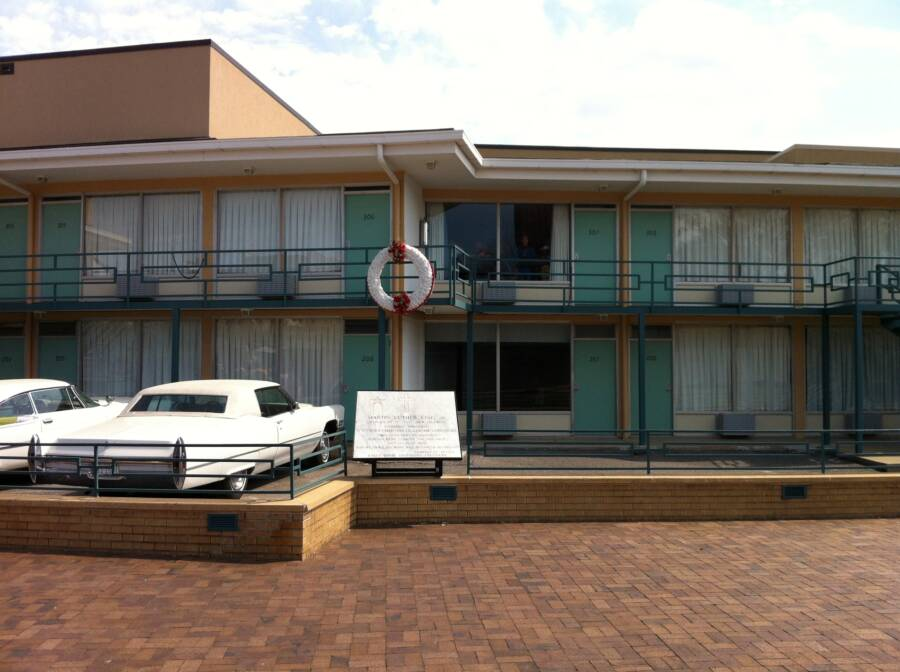 The Scene Of Martin Luther King's Death