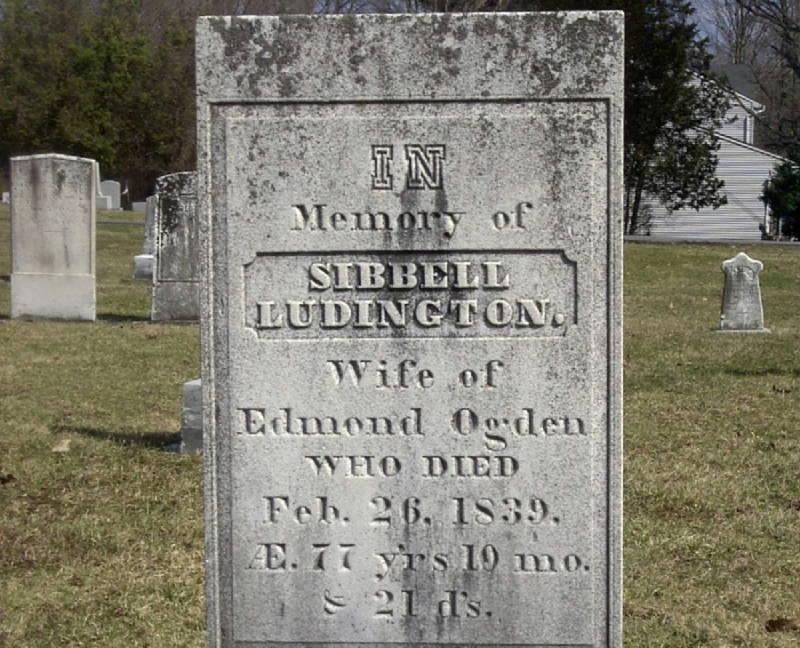 Ludington Grave