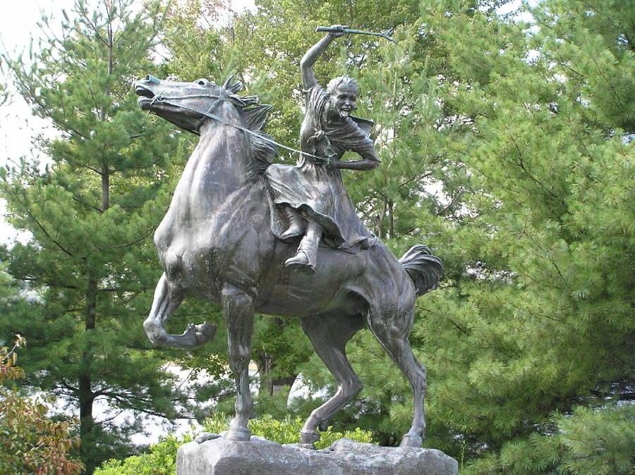 Ludington Statue