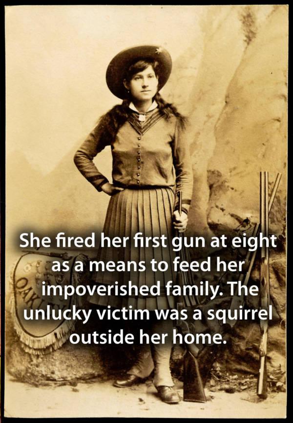 Annie Oakley Facts