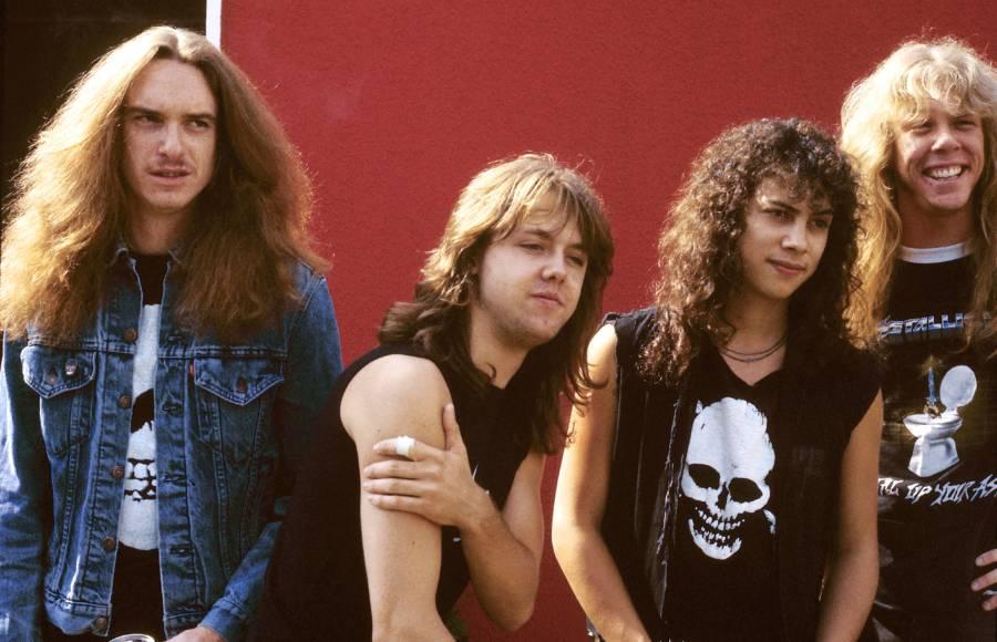 Metallica Backstage
