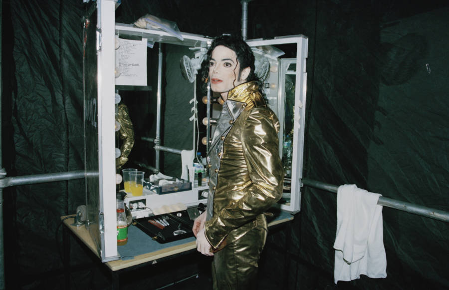 Michael Jackson Backstage