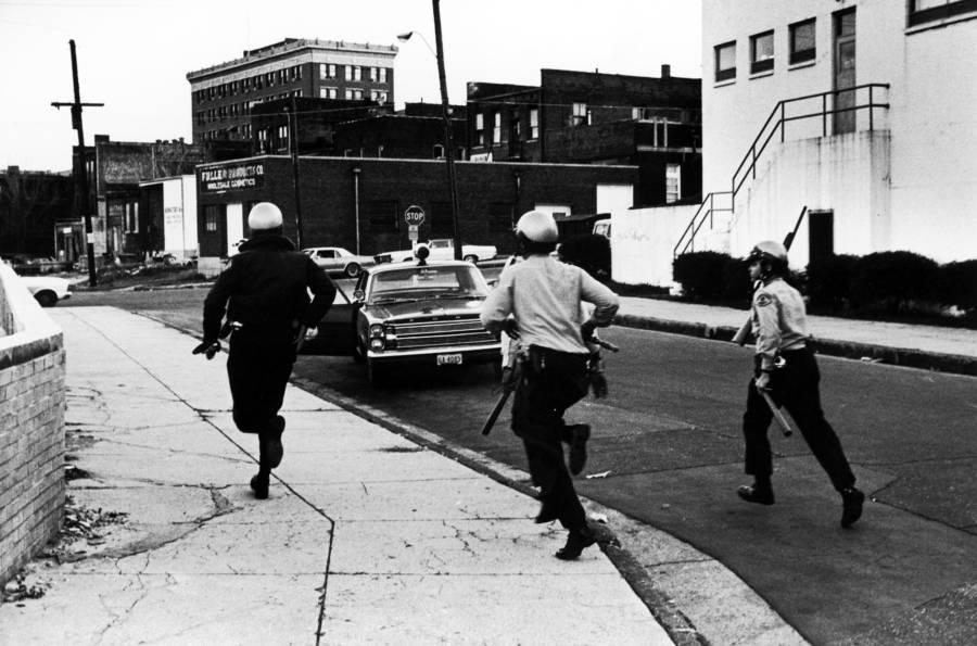 Mlk Assassination Police