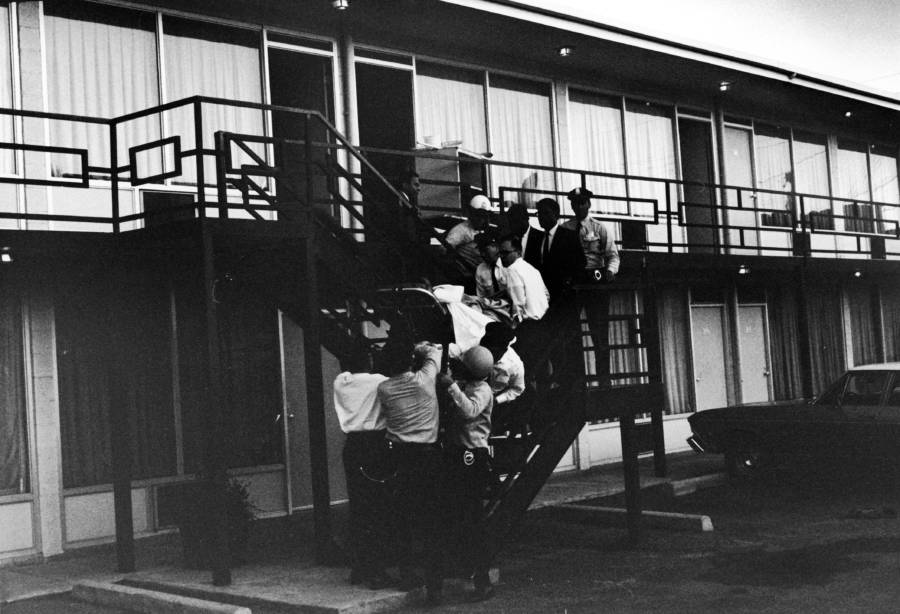 Mlk Body Being Carried