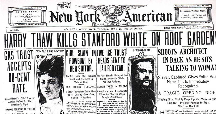 Murder Of Stanford White