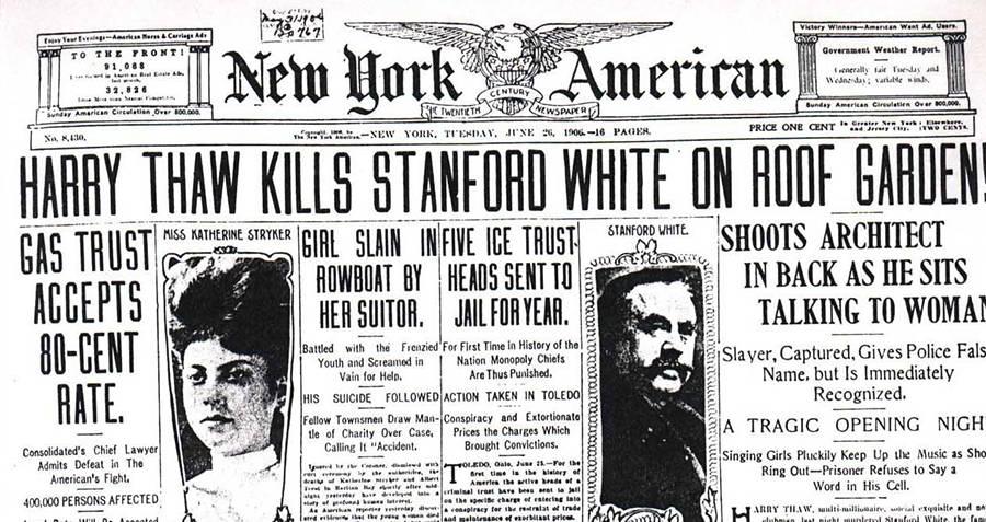 Murder Newspaper Headline
