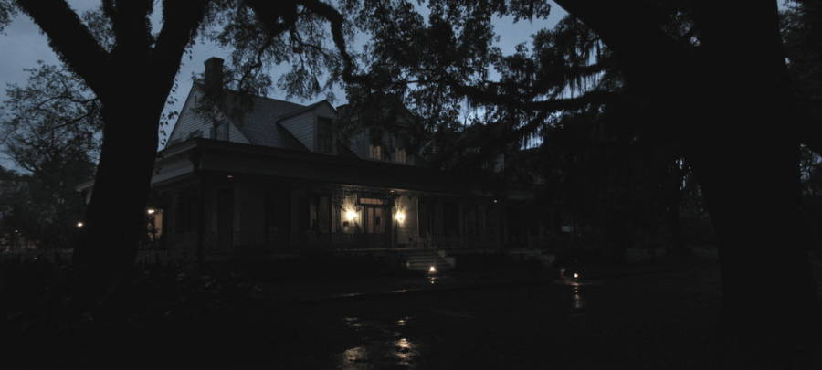 Myrtles Plantation At Night