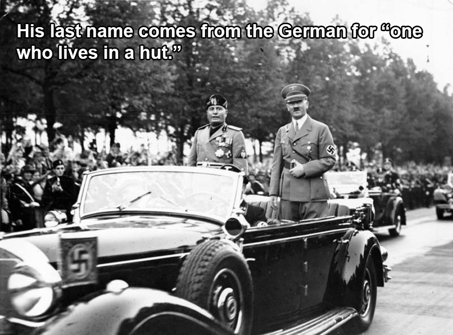 Origin Of Hitler's Name