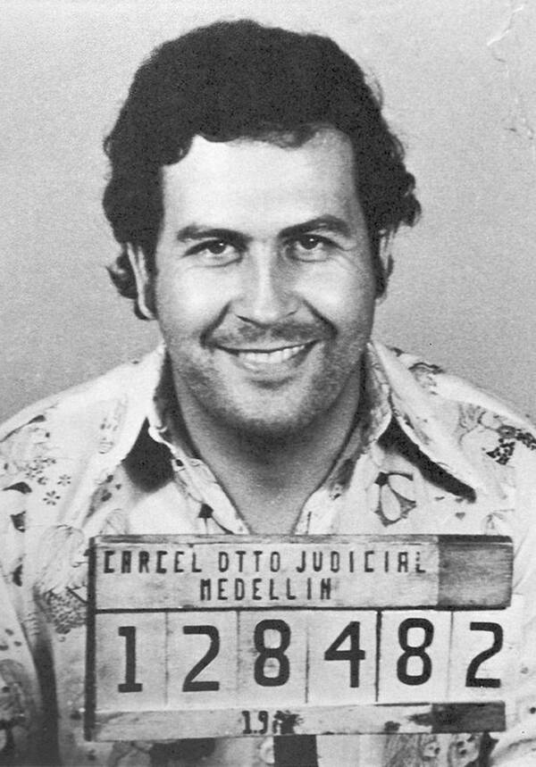 Pablo Escobar's Famous Mugshot
