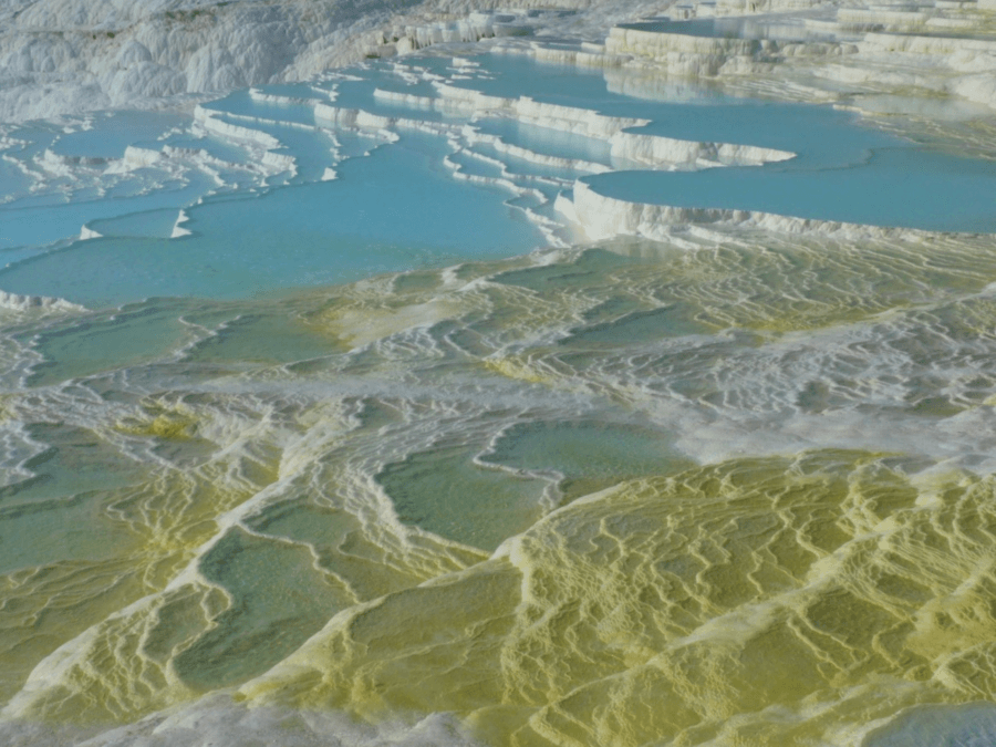 Pamukkale Thermal Pools Green