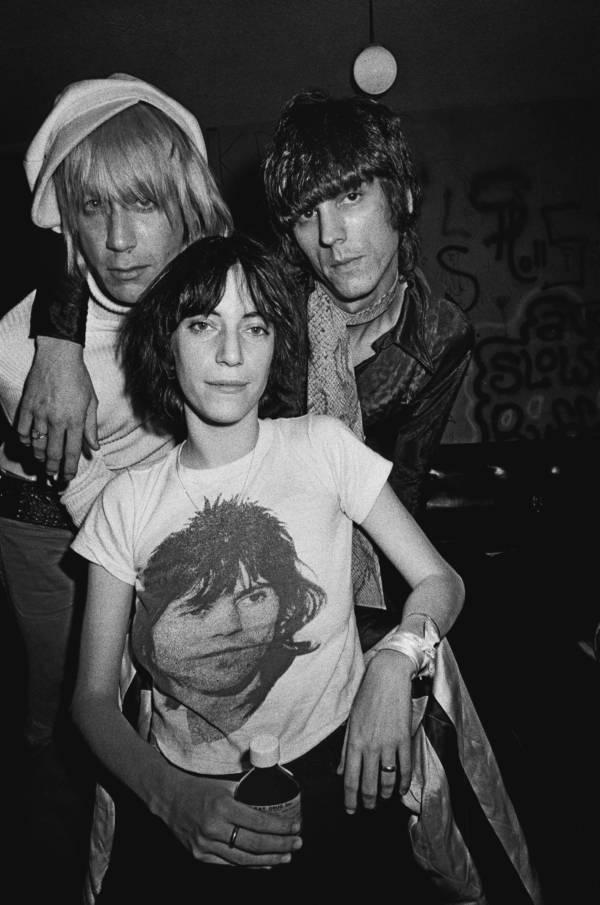 Patti Smith Backstage