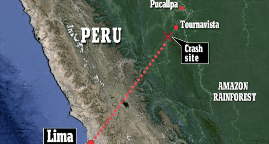 Peru Crash Map