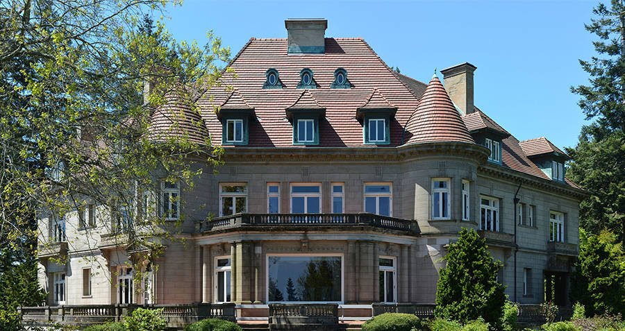 Pittock Mansion East Facade