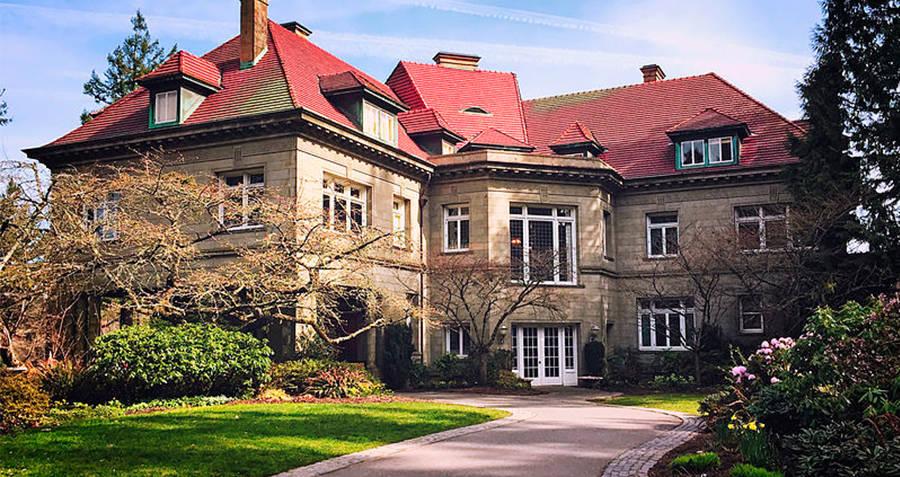Pittock Mansion Main Entrance