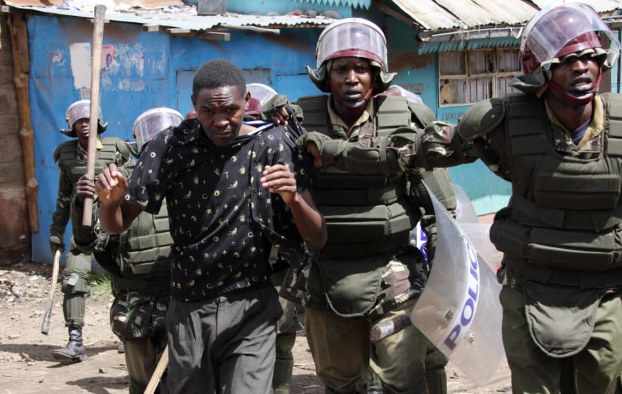 Police Arrest Member