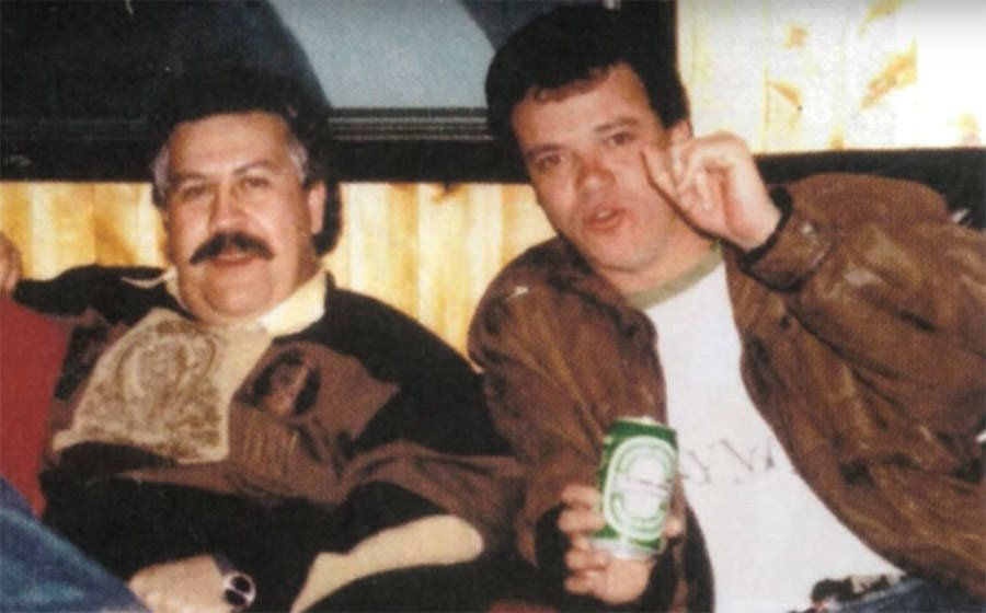 Pablo Escobar And John Jairo Velasquez