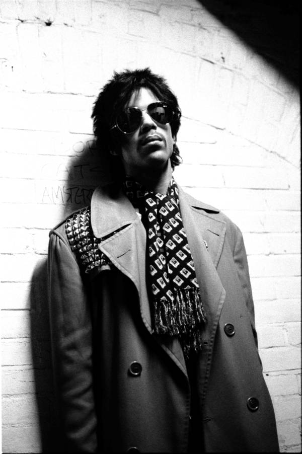 Prince Backstage