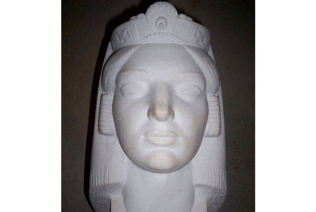 Queen Teuta Of Illyria Bust
