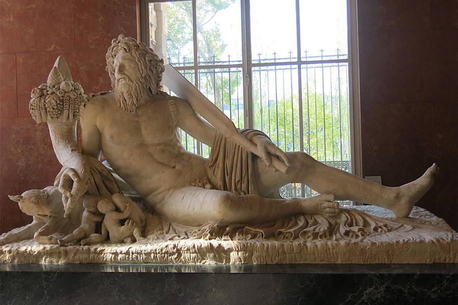 Remus Romulus Tiberus Sculpture