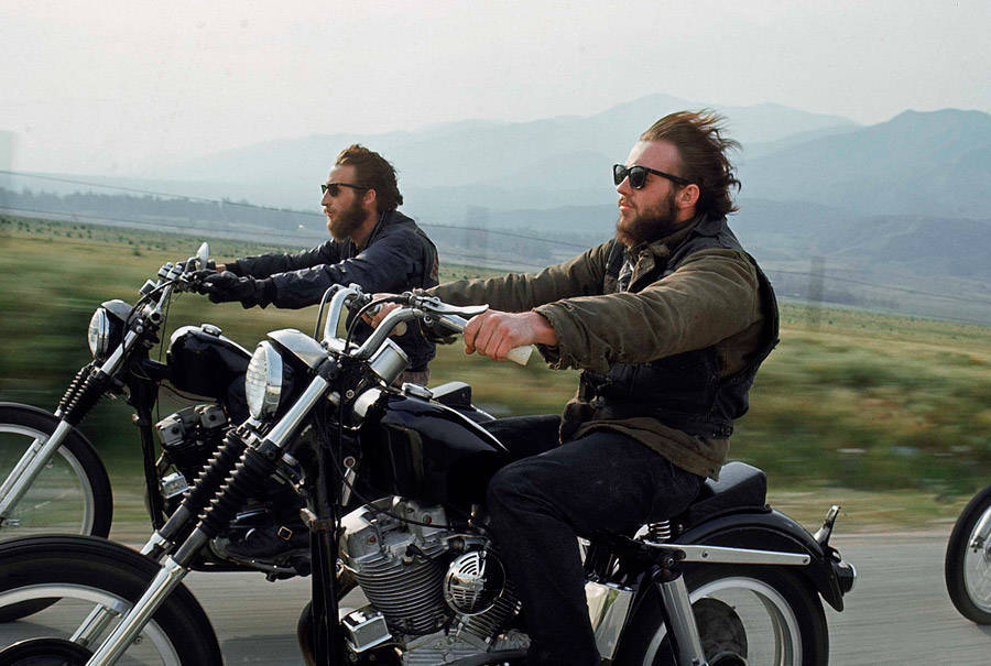 Vintage Highway Bikers