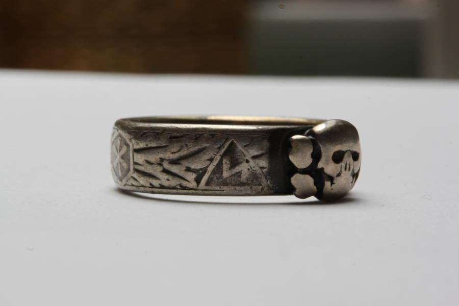 Ahnenerbe Runes SS Ring Honor