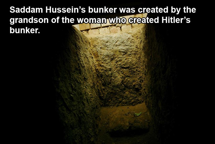 Saddam Hussein's Bunker