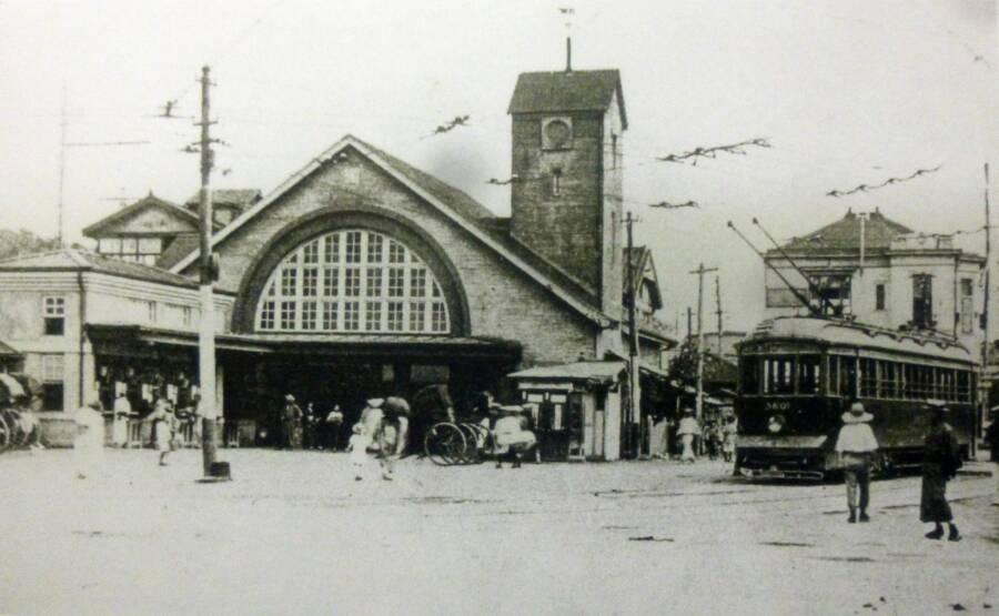 Shibuya Station In 1920s