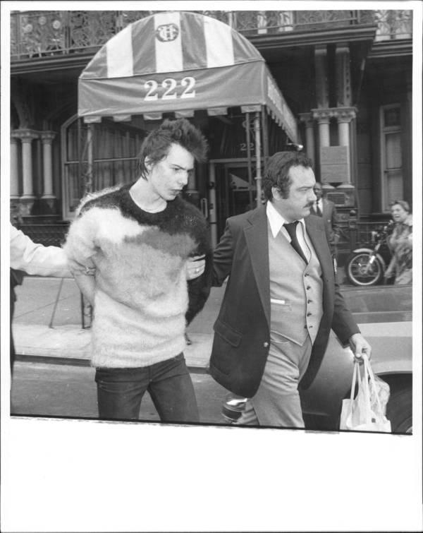 Sid Vicious Arrest