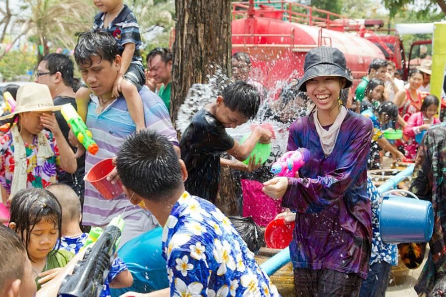 Weird Holidays Songkran Festival