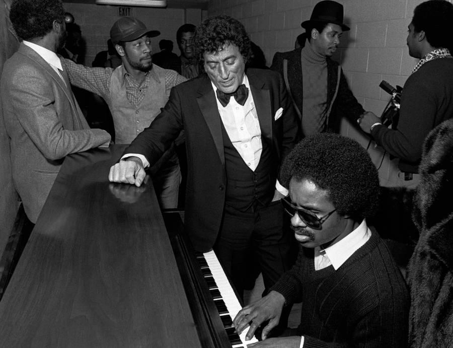 Stevie Wonder Tony Bennet