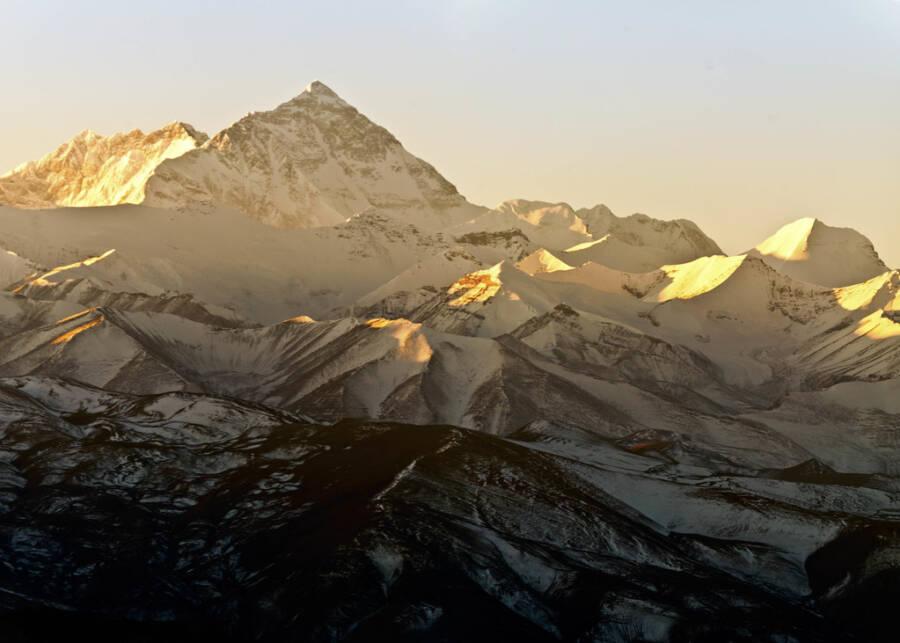 Sunset Over Mount Everest