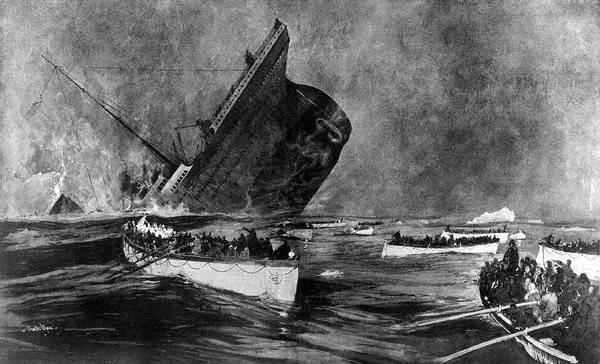 Titanic Final Plunge