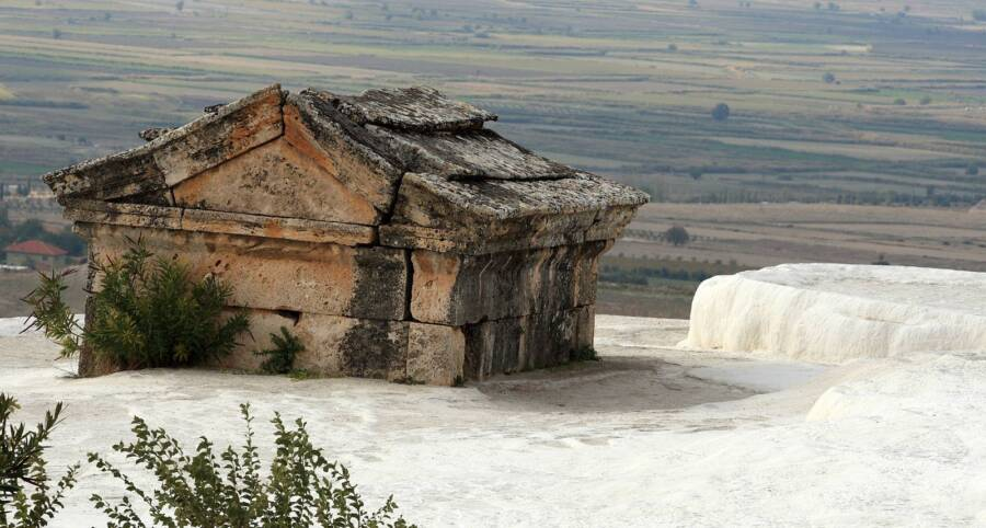 Tomb In Travertine