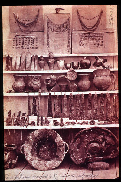 Trojan Artifcats Of Heinrich Schliemann