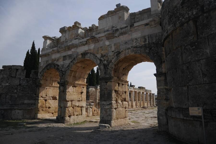 Turkey Pamukkale Hierapolis