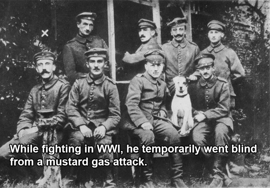 Hitler During World War I
