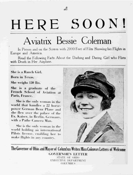 Advert For Coleman Show