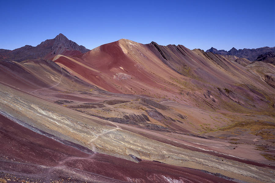 Andes Rainbow Mountains