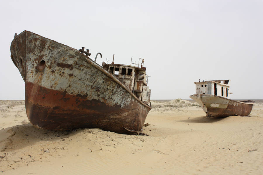 Aral Sea Boats