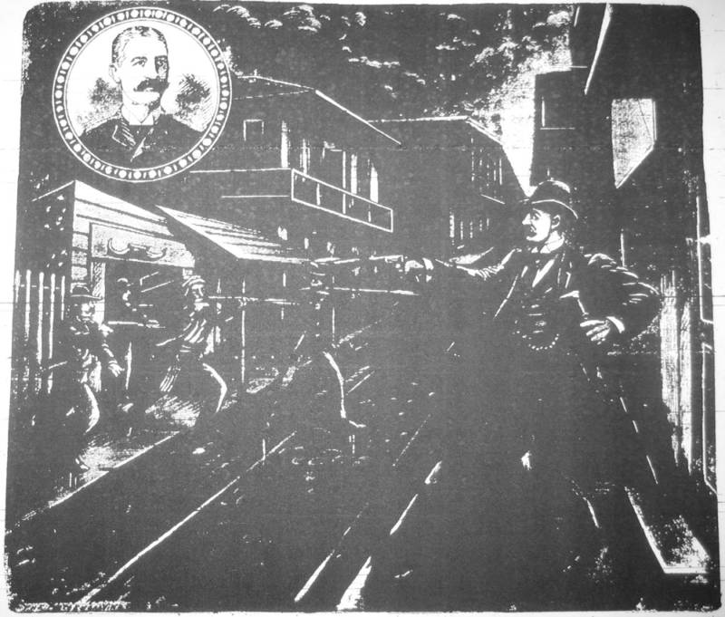 Assassination Of David C. Hennessy