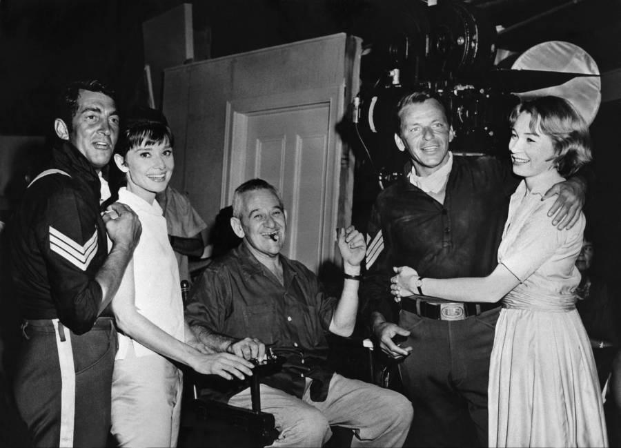 Audrey Hepburn Shirley Maclaine