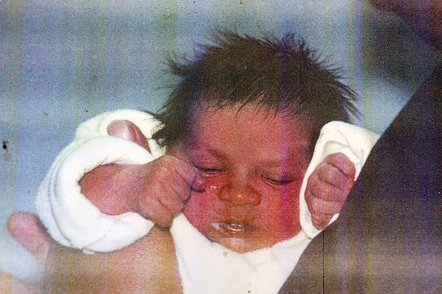 Zephany Nurse As A Baby