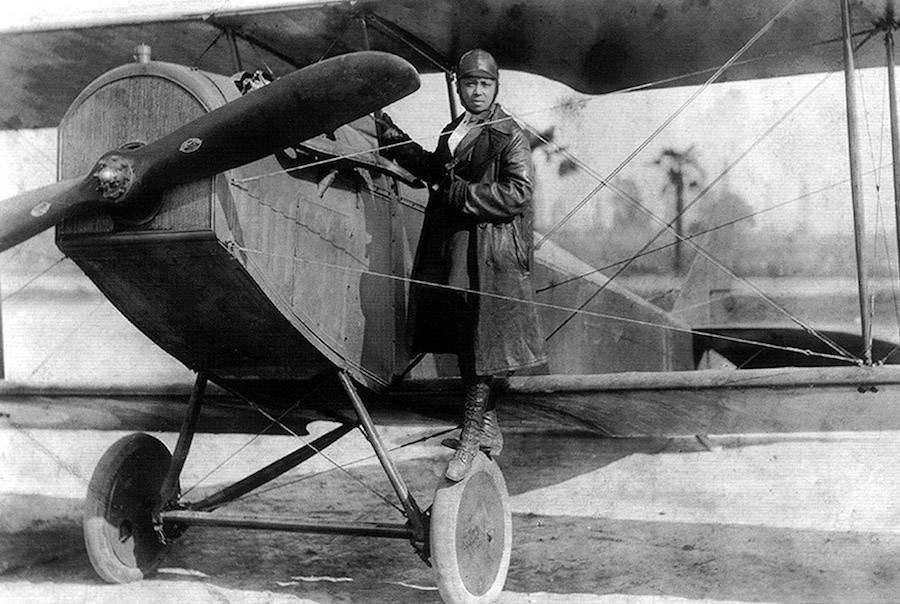 Bessie Coleman Plane