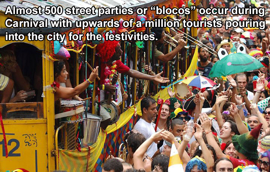 Bloco Parties During Carnival