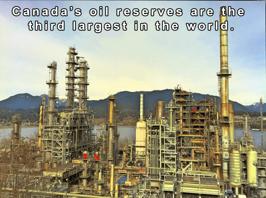 Canadian Oil Refinery