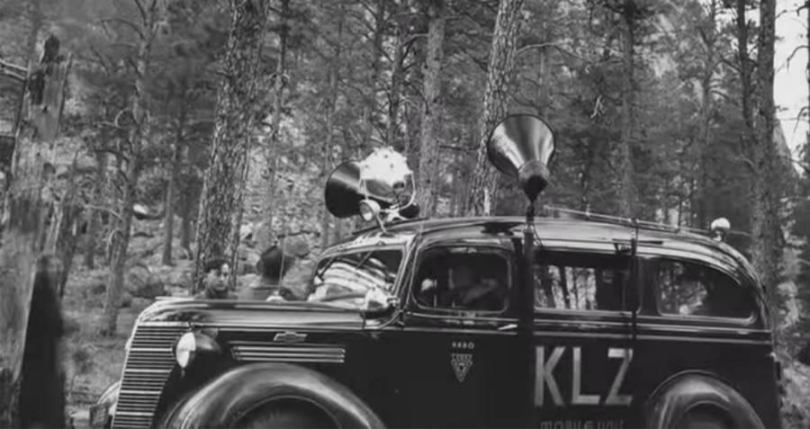 Car With Bullhorns