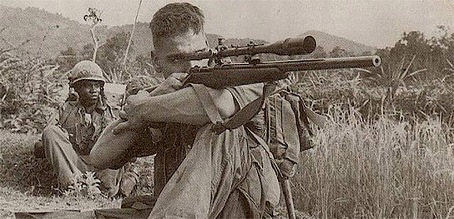 Carlos Hathcock Gun