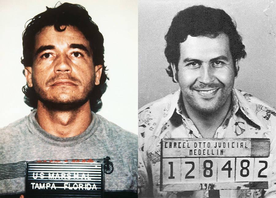 Carlos Lehder And Pablo Escobar
