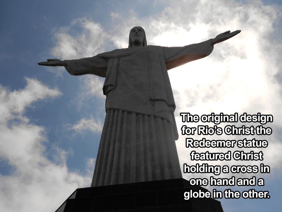 Christ The Redeemer From Below
