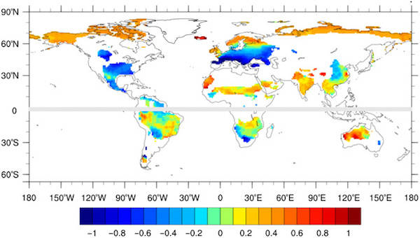 Climate Variation Map